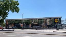 GRUP MANSER, Lidl Reus. Reus. 2018: Carpinteria de aluminio / Muros Cortina